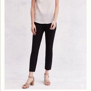 Anthropologie Essential Skinny Pant - black sz 12